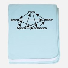 Rock, Paper, Scissors, Lizard, Spock Graph baby bl