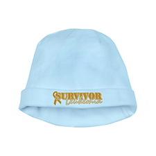 Survivor - Leukemia baby hat