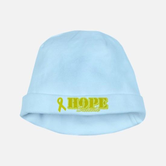 Hope Yellow ribbon baby hat