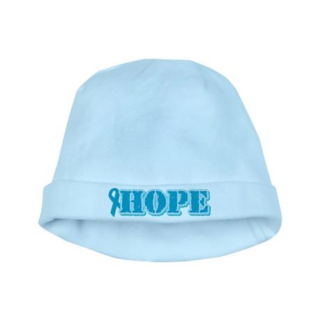 Teal Hope Ribbon baby hat