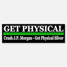Crash J. P. Morgan Buy Silver Bumper Bumper Sticker