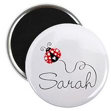 "Ladybug Sarah 2.25"" Magnet (10 pack)"