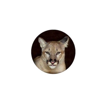 Confident Cougar Mini Button (100 pack)