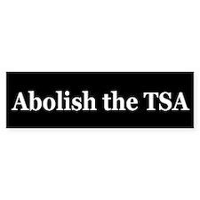 Abolish The TSA Car Sticker