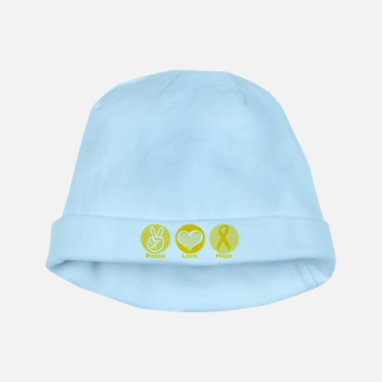 Peace Yel Hope baby hat