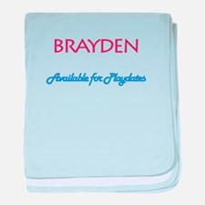 Brayden - Available for Playd baby blanket