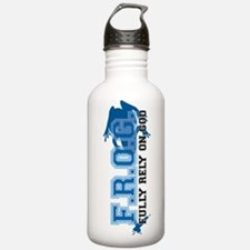 FROG blue Water Bottle