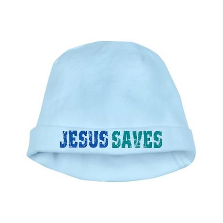 Jesus Saves baby hat