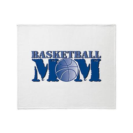 Basketball mom Throw Blanket
