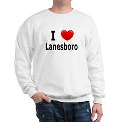 I Love Lanesboro Sweatshirt