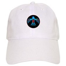 Blue & Red Thunderbird Baseball Cap