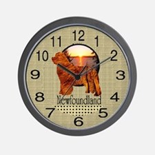 Newfie Wall Clock