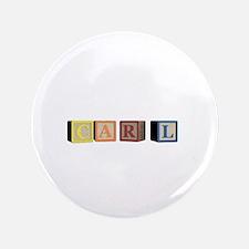 """Carl Alphabet Block 3.5"""" Button (100 pack)"""