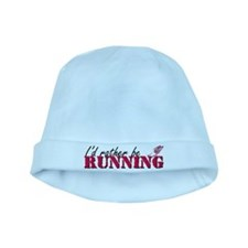 Rather be running baby hat