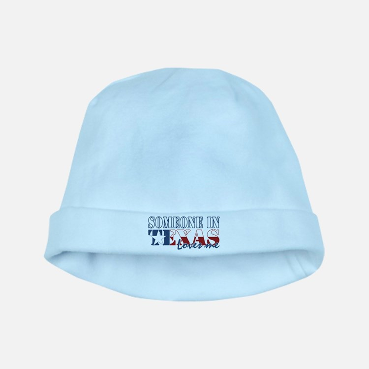Someone in Texas baby hat