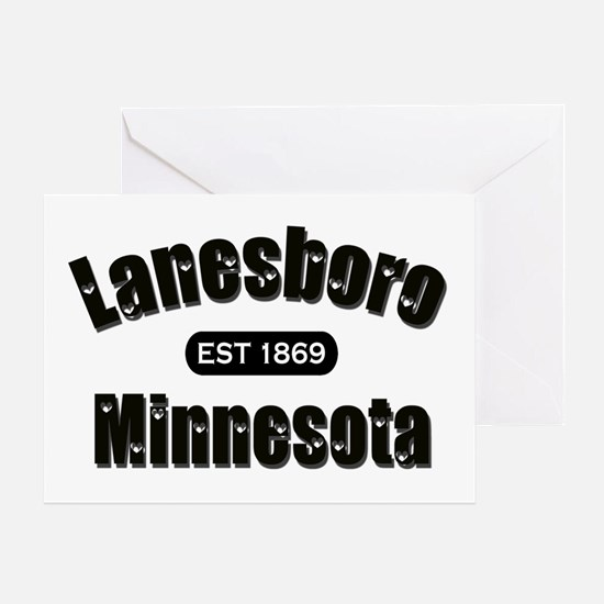 Lanesboro Established 1869 Greeting Card