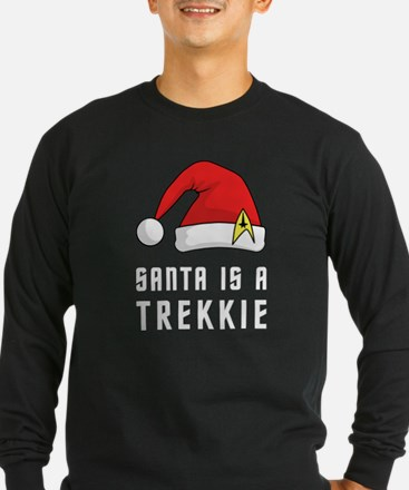 Santa is a Trekkie T