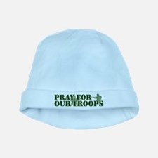 Pray for our troops baby hat