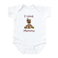 I Love Mommy (Boy) Infant Creeper