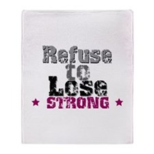 Refuse to Lose Throw Blanket