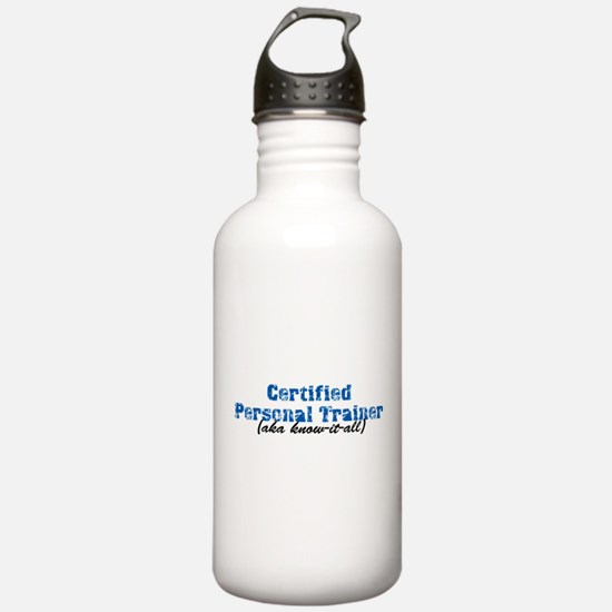 Certified Personal Trainer nta Water Bottle