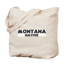 Montana Native Tote Bag
