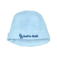 Let's Roll baby hat