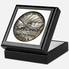Oregon Trail Reverse Keepsake Box