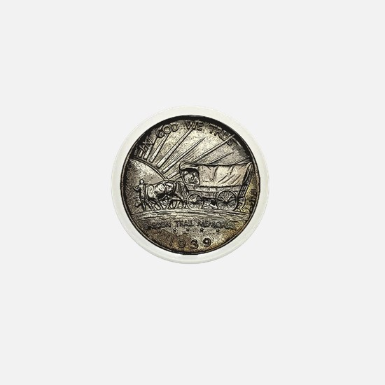 Oregon Trail Reverse Mini Button