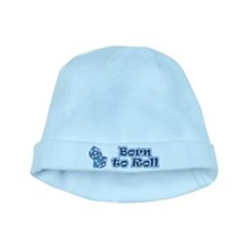 Born to roll baby hat
