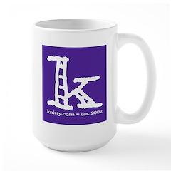 Knittylove [purple] Mug