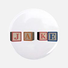 "Jake Alphabet Block 3.5"" Button"
