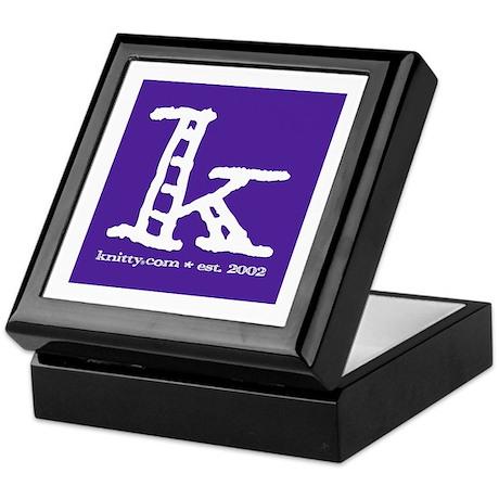 Knittylove [purple] Keepsake Box