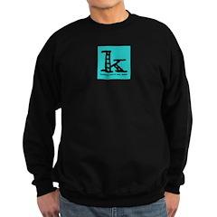 Knittylove [aqua] Sweatshirt