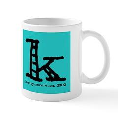 Knittylove [aqua] Mug