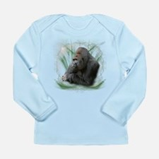 Space Gorilla Long Sleeve Infant T-Shirt