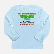 All Around Ass Long Sleeve Infant T-Shirt