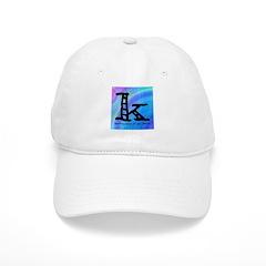 Knittylove [madras] Baseball Cap