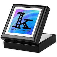 Knittylove [madras] Keepsake Box