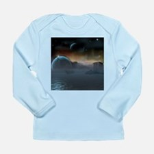 Ghostly Long Sleeve Infant T-Shirt