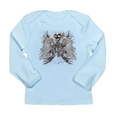 Winged Death Long Sleeve Infant T-Shirt
