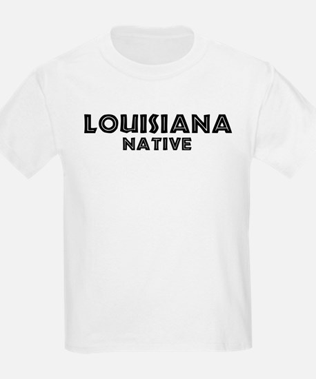 Louisiana Native Kids T-Shirt