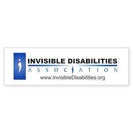 Invisible Disabilities Assoc Sticker (Bumper)
