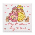 My Mother My Friend Tile Coaster