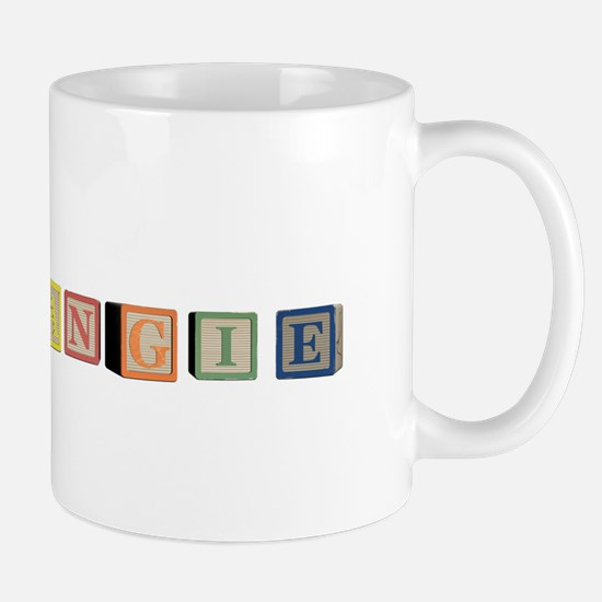 Angie Alphabet Block Mug