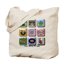 Don't Worry Be Appy 2 Tote Bag