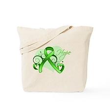 Lymphoma Hope Heart Tote Bag