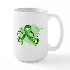 Lymphoma Hope Heart Mug