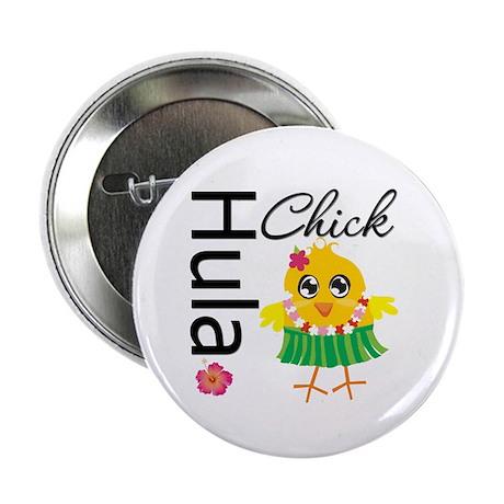 """Hula Chick 2.25"""" Button (10 pack)"""