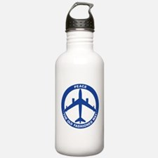 B-47 Peace Sign Water Bottle